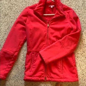 Pink Lilly Pulitzer fleece jacket